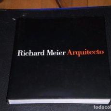 Libros de segunda mano: RICHARD MEIER. ARQUITECTO.*2* - ED. GG. 1992. 1ª EDICIÓN. Lote 67283125