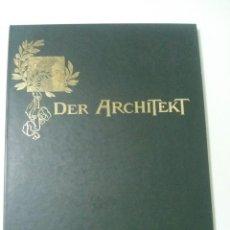 Libros de segunda mano: DER ARCHITEKT : CRÓNICA ARQUITECTÓNICA DE LA VIENA FIN DE SIÈCLE ; 1895 - 1922 GRAN FORMATO. Lote 67891461