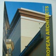 Libros de segunda mano: CONTEMPORARY EUROPEAN ARCHITECTS- ALDO ROSSI , JOSEP MARTORELL, NORMAN FOSTER, ETC. Lote 68176057
