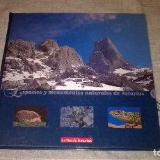 Libros de segunda mano: ESPACIOS Y MONUMENTOS NATURALES DE ASTURIAS. Lote 68423789