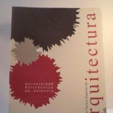 Libros de segunda mano: ESCUELA TÉCNICA SUPERIOR DE ARQUITECTURA 01-02. UNIV POLITÉCNICA DE VALENCIA 2001. ISBN 8497050487. Lote 69399105
