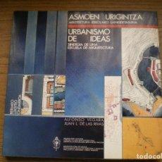 Libros de segunda mano: URBANISMO DE IDEAS. ALFONSO VEGARA, JUAN L. DE LAS RIVAS. GRAN FORMATO. Lote 69697469