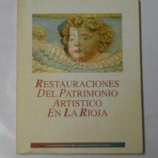 Libros de segunda mano - RESTAURACIONES DEL PATRIMONIO ARTÍSTICO EN LA RIOJA. TDK97 - 34192056