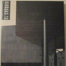 Libros de segunda mano: EL CROQUIS. REVISTA DE ARQUITECTURA Y DE DISEÑO. NÚM.51, NOVIEMBRE 1991.. Lote 69958485