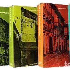 Libros de segunda mano: FEDUCHI : ITINERARIOS DE ARQUITECTURA POPULAR ESPAÑOLA. 5 VOLS. (BLUME. LA + COMPLETA ARQUIT POPULAR. Lote 70482453