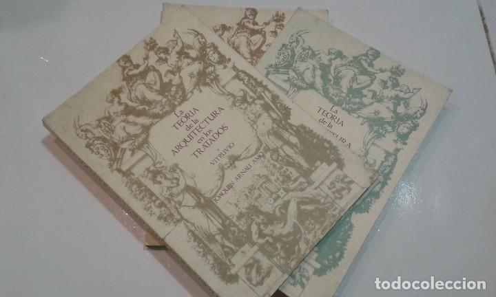 LA TEORÍA DE LA ARQUITECTURA EN LOS TRATADOS. 3 TOMOS.JOAQUIN ARNAU AMO (Libros de Segunda Mano - Bellas artes, ocio y coleccionismo - Arquitectura)
