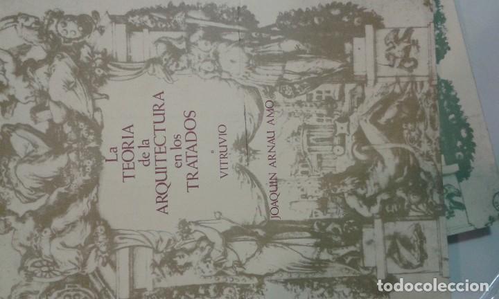 Libros de segunda mano: La Teoría de la Arquitectura en los Tratados. 3 tomos.JOAQUIN ARNAU AMO - Foto 2 - 70546945