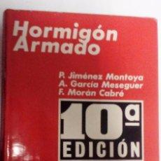 Libros de segunda mano: HORMIGÓN ARMADO TOMO II ABACOS 10ª EDICIÓN. AJUSTADA AL CÓDIGO MODELO CEB-FIP. Lote 71551451