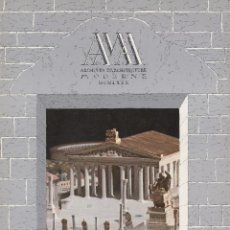Libros de segunda mano: AAM. ARCHIVES D'ARCHITECTURE MODERNE. Nº18, 1980. LEON KRIER, BRUNO MINARDI.. Lote 195510260