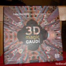 Libros de segunda mano: 3D MAGIC GAUDÍ. Lote 71718839