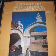 Libros de segunda mano: HISTORIA DEL ARTE COLONIAL SUDAMERICANO DAMIAN BAYO EDICIONES POLIGRAFIA. Lote 71741767