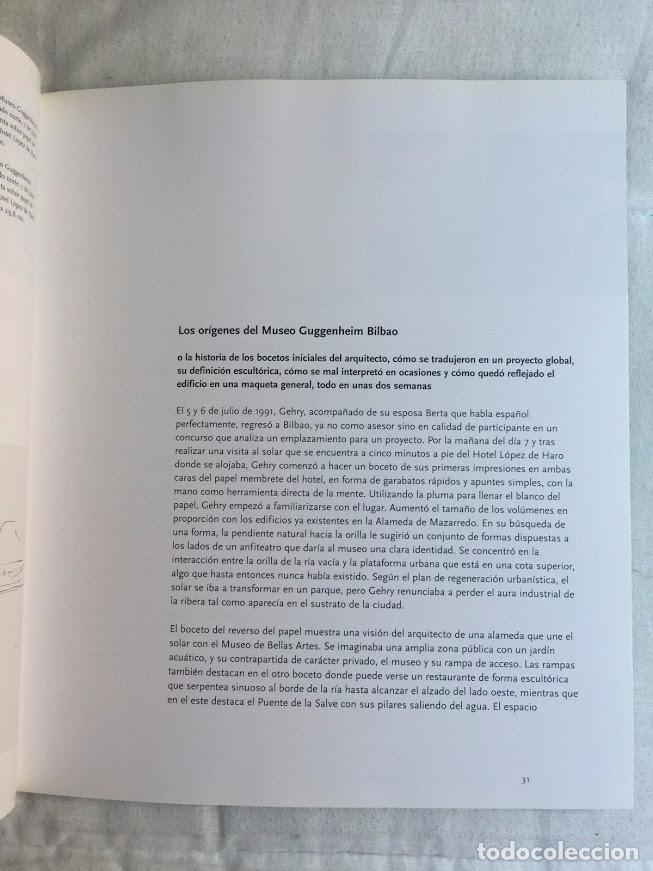 Libros de segunda mano: FRANK O. GEHRY, EL MUSEO GUGGENHEIM BILBAO - VAN BRUGGEN - Foto 3 - 72247323