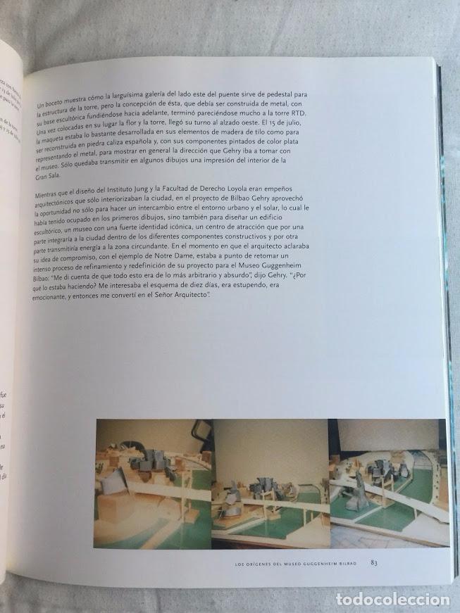 Libros de segunda mano: FRANK O. GEHRY, EL MUSEO GUGGENHEIM BILBAO - VAN BRUGGEN - Foto 5 - 72247323