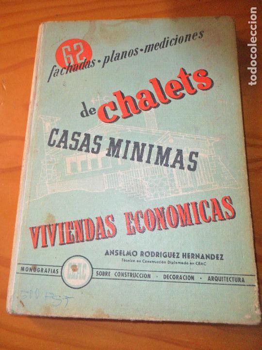 Fachadas mediciones planos de chalets casas m comprar libros de arquitectura en todocoleccion - Gastos vendedor vivienda segunda mano ...