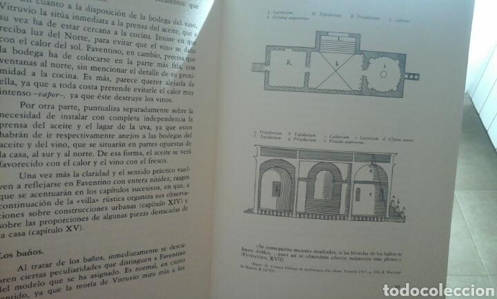 Libros de segunda mano: Compendio de arquitectura.1979.M.cetio Faventino - Foto 5 - 74957370