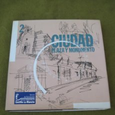 Libros de segunda mano: CIUDAD, PLAZA Y MONUMENTO EN CASTILLA - LA MANCHA.. Lote 75079299