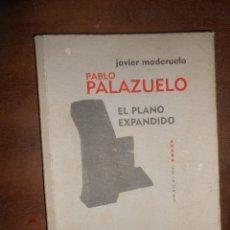 Libros de segunda mano: JAVIER MADERUELO PABLO PALAZUELO EL PLANO EXPANDIDO ABADA EDITORES MADRID 2010. Lote 76873483