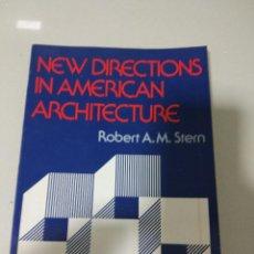 Libros de segunda mano: NEW DIRECTIONS IN AMERICAN ARCHITECTURE ROBERT STERN. Lote 77918217