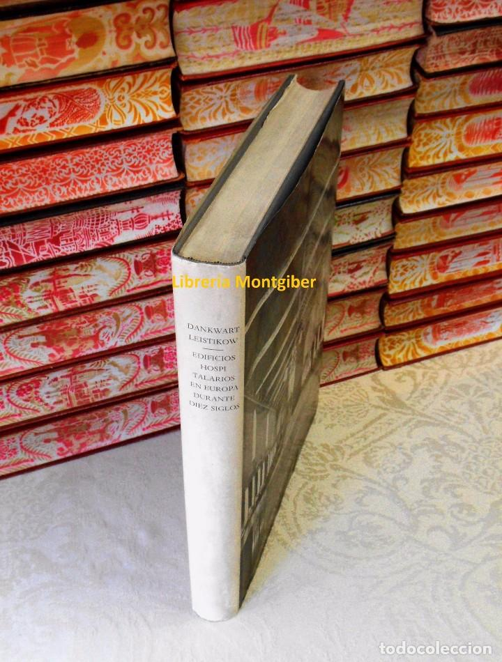 Libros de segunda mano: EDIFICIOS HOSPITALARIOS EN EUROPA DURANTE DIEZ SIGLOS . Autor : Leistikow, Dankwart - Foto 2 - 78138993