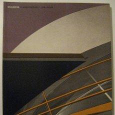 Libros de segunda mano: QUADERNS D'ARQUITECTURA I URBANISME. COLEGIO DE ARQUITECTOS DE CATALUÑA. Nº169-170, ABRIL-SEPT 1986. Lote 109205283