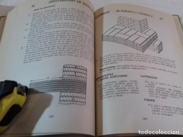 Libros de segunda mano: PRACTICA CONSTRUCTIVA-FRANCISCO ARQUEDO-Nº 4-MONOGRAFIAS CEAC-1963 - Foto 8 - 78516645