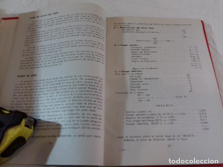 Libros de segunda mano: PRESUPUESTOS PARA LA CONSTRUCCION-F.ALVAREZ MARTINEZ-Nº 7-MONOGRAFIAS CEAC-1963 - Foto 2 - 78517561