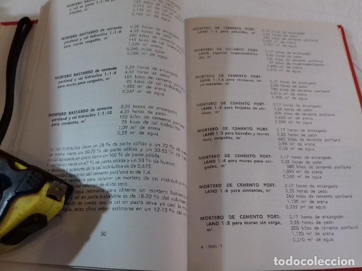 Libros de segunda mano: PRESUPUESTOS PARA LA CONSTRUCCION-F.ALVAREZ MARTINEZ-Nº 7-MONOGRAFIAS CEAC-1963 - Foto 4 - 78517561