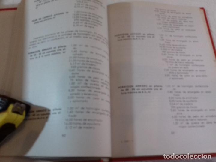 Libros de segunda mano: PRESUPUESTOS PARA LA CONSTRUCCION-F.ALVAREZ MARTINEZ-Nº 7-MONOGRAFIAS CEAC-1963 - Foto 5 - 78517561