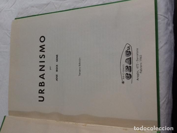 Libros de segunda mano: URBANISMO ZONAS INDUSTRIALES, CIUDADES, VERDES, CAMPOS-JOSE BOIX GENE-Nº 17-MONOGRAFIAS CEAC-1963 - Foto 2 - 78521549