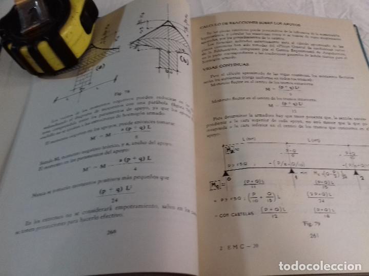Libros de segunda mano: CALCULO PRACTICO DEL HORMIGON ARMADO (Ii)-FRANCISCO ARQUERO ESTEBAN-Nº 20-MONOGRAFIAS CEAC-1963 - Foto 9 - 78522789