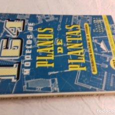 Libros de segunda mano: 164 MODELOS DE PLANOS DE PLANTAS-DISTRIBUCION RACIONAL DE LA VIVIENDA-Nº 21-MONOGRAFIAS CEAC-1963. Lote 78523281