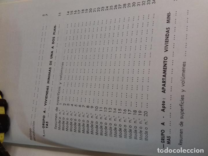 Libros de segunda mano: 164 MODELOS DE PLANOS DE PLANTAS-DISTRIBUCION RACIONAL DE LA VIVIENDA-Nº 21-MONOGRAFIAS CEAC-1963 - Foto 3 - 78523281