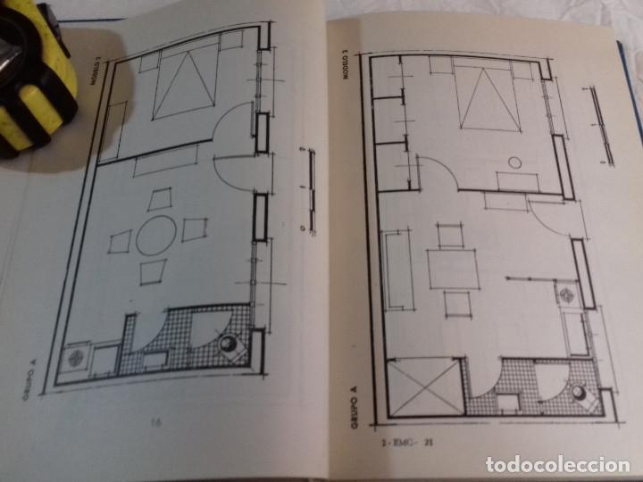 Libros de segunda mano: 164 MODELOS DE PLANOS DE PLANTAS-DISTRIBUCION RACIONAL DE LA VIVIENDA-Nº 21-MONOGRAFIAS CEAC-1963 - Foto 6 - 78523281