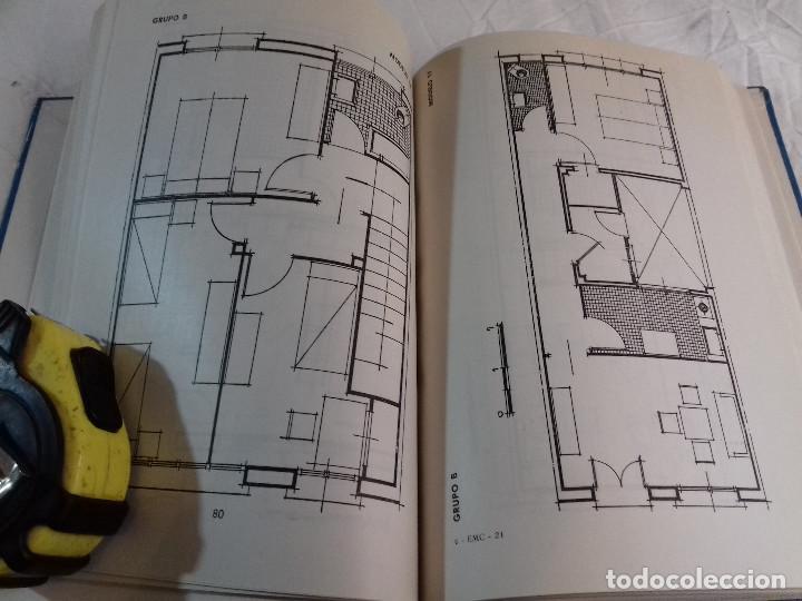Libros de segunda mano: 164 MODELOS DE PLANOS DE PLANTAS-DISTRIBUCION RACIONAL DE LA VIVIENDA-Nº 21-MONOGRAFIAS CEAC-1963 - Foto 9 - 78523281