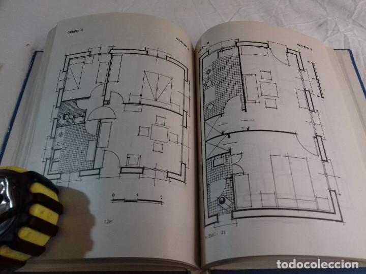Libros de segunda mano: 164 MODELOS DE PLANOS DE PLANTAS-DISTRIBUCION RACIONAL DE LA VIVIENDA-Nº 21-MONOGRAFIAS CEAC-1963 - Foto 11 - 78523281