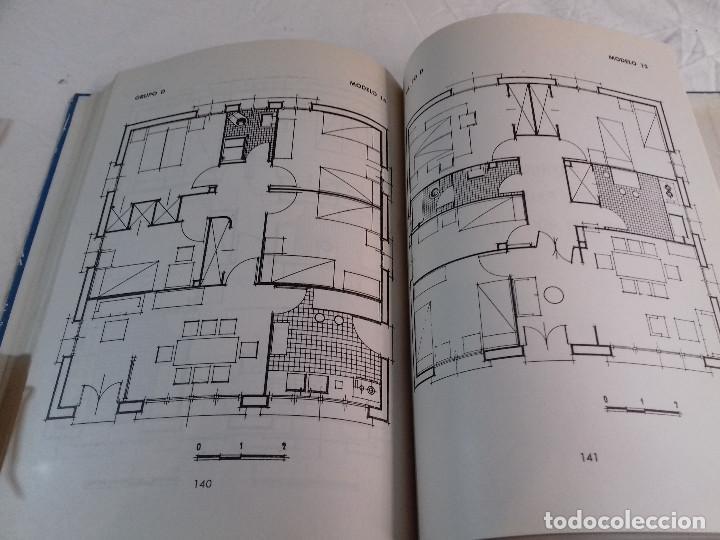 Libros de segunda mano: 164 MODELOS DE PLANOS DE PLANTAS-DISTRIBUCION RACIONAL DE LA VIVIENDA-Nº 21-MONOGRAFIAS CEAC-1963 - Foto 12 - 78523281