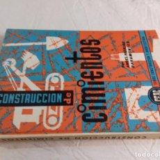 Libros de segunda mano: CONSTRUCCION DE CIMIENTOS-ANGEL HIDALGO BAHAMONTES-Nº 22-MONOGRAFIAS CEAC-1963. Lote 78523509
