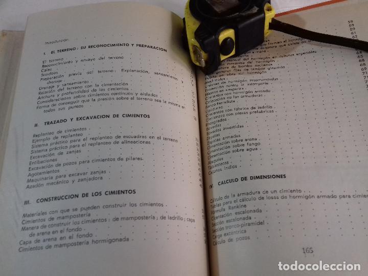 Libros de segunda mano: CONSTRUCCION DE CIMIENTOS-ANGEL HIDALGO BAHAMONTES-Nº 22-MONOGRAFIAS CEAC-1963 - Foto 3 - 78523509