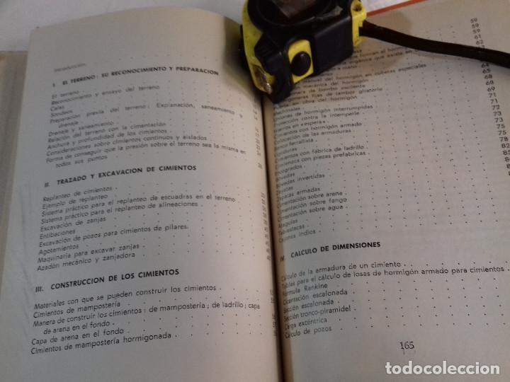 Libros de segunda mano: CONSTRUCCION DE CIMIENTOS-ANGEL HIDALGO BAHAMONTES-Nº 22-MONOGRAFIAS CEAC-1963 - Foto 4 - 78523509
