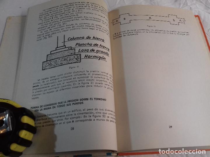Libros de segunda mano: CONSTRUCCION DE CIMIENTOS-ANGEL HIDALGO BAHAMONTES-Nº 22-MONOGRAFIAS CEAC-1963 - Foto 8 - 78523509
