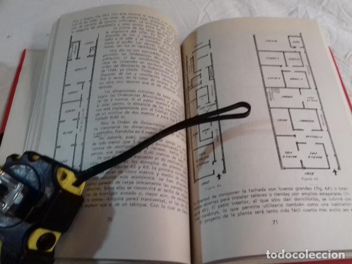 Libros de segunda mano: COMO SE PROYECTA UNA VIVIENDA-FEDERICO ULSAMER PUIGGARI-Nº 23-MONOGRAFIAS CEAC-1963 - Foto 10 - 78523821