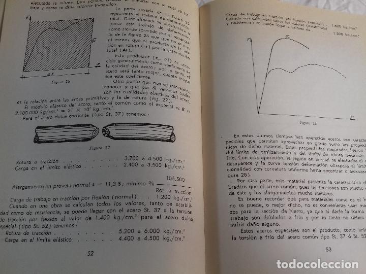 Libros de segunda mano: TECNICA Y PRACTICA DEL HORMIGON ARMADO (I)-E.CASAPRIMA-Nº 33-MONOGRAFIAS CEAC-1963 - Foto 5 - 78528341
