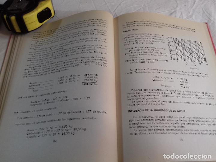 Libros de segunda mano: TECNICA Y PRACTICA DEL HORMIGON ARMADO (I)-E.CASAPRIMA-Nº 33-MONOGRAFIAS CEAC-1963 - Foto 8 - 78528341