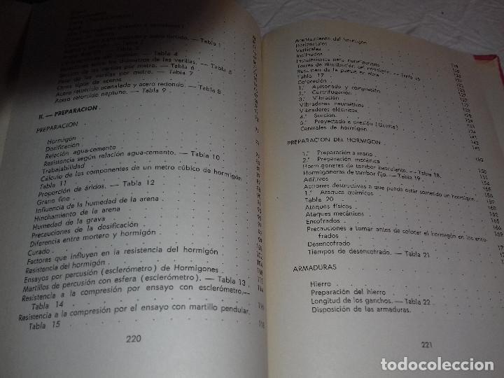 Libros de segunda mano: TECNICA Y PRACTICA DEL HORMIGON ARMADO (I)-E.CASAPRIMA-Nº 33-MONOGRAFIAS CEAC-1963 - Foto 14 - 78528341