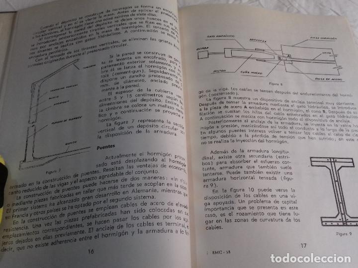 Libros de segunda mano: HORMIGON PRETENSADO-M. PAYA PELMADO-Nº 38-MONOGRAFIAS CEAC-1963 - Foto 3 - 78530401