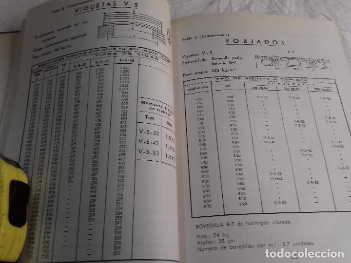 Libros de segunda mano: HORMIGON PRETENSADO-M. PAYA PELMADO-Nº 38-MONOGRAFIAS CEAC-1963 - Foto 5 - 78530401