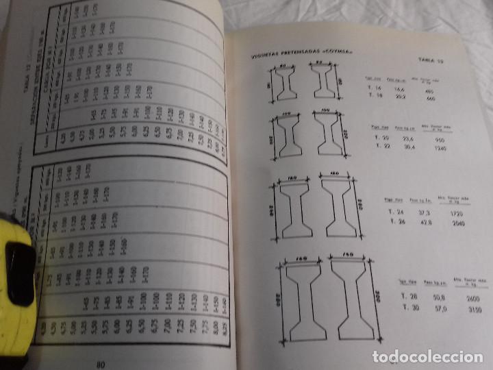 Libros de segunda mano: HORMIGON PRETENSADO-M. PAYA PELMADO-Nº 38-MONOGRAFIAS CEAC-1963 - Foto 6 - 78530401