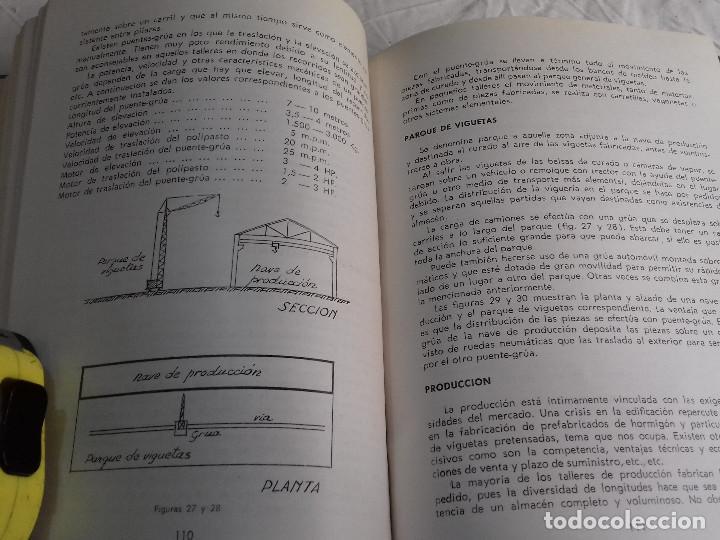 Libros de segunda mano: HORMIGON PRETENSADO-M. PAYA PELMADO-Nº 38-MONOGRAFIAS CEAC-1963 - Foto 7 - 78530401
