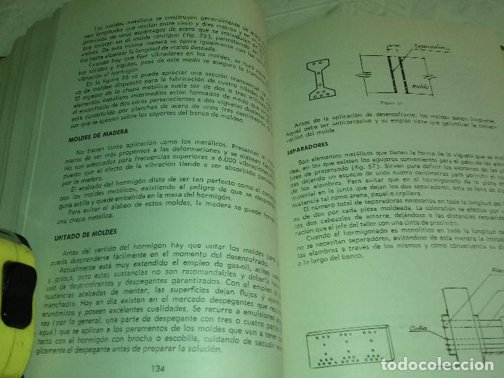 Libros de segunda mano: HORMIGON PRETENSADO-M. PAYA PELMADO-Nº 38-MONOGRAFIAS CEAC-1963 - Foto 8 - 78530401