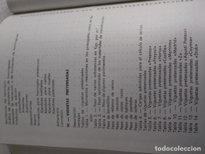 Libros de segunda mano: HORMIGON PRETENSADO-M. PAYA PELMADO-Nº 38-MONOGRAFIAS CEAC-1963 - Foto 11 - 78530401